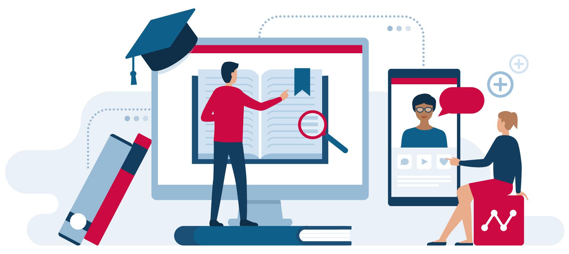 """Mit digi.skills werden digitale Kompetenzen rund um digitales Unterrichten, Lernen, Arbeiten und Zusammenarbeiten gefördert und gestärkt. Lehrer*innen, in weiterer Folge auch Schüler*innen und Eltern werden dabei unterstützt, sich für das Vorhaben """"Digitale Schule"""" fit zu machen."""